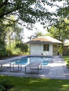 Pool house piscine am nagements abris de jardin piscine - Plan pool house piscine ...