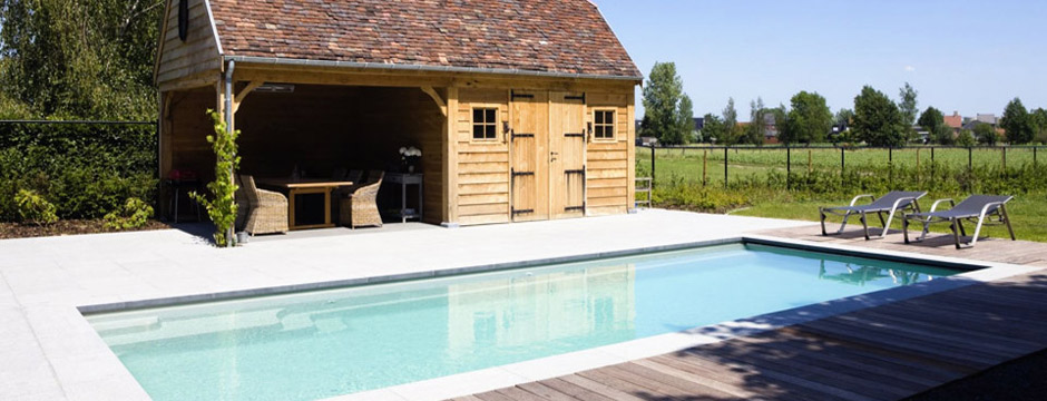 Pool house piscine am nagements abris de jardin piscine for Construction pool house piscine