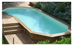 Construction installation de piscine hors sol