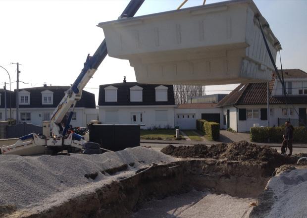 Constructeur installateur de piscine coque piscine du nord for Installation piscine coque