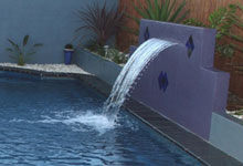 fontaine cascade et lame d 39 eau piscine piscine du nord. Black Bedroom Furniture Sets. Home Design Ideas