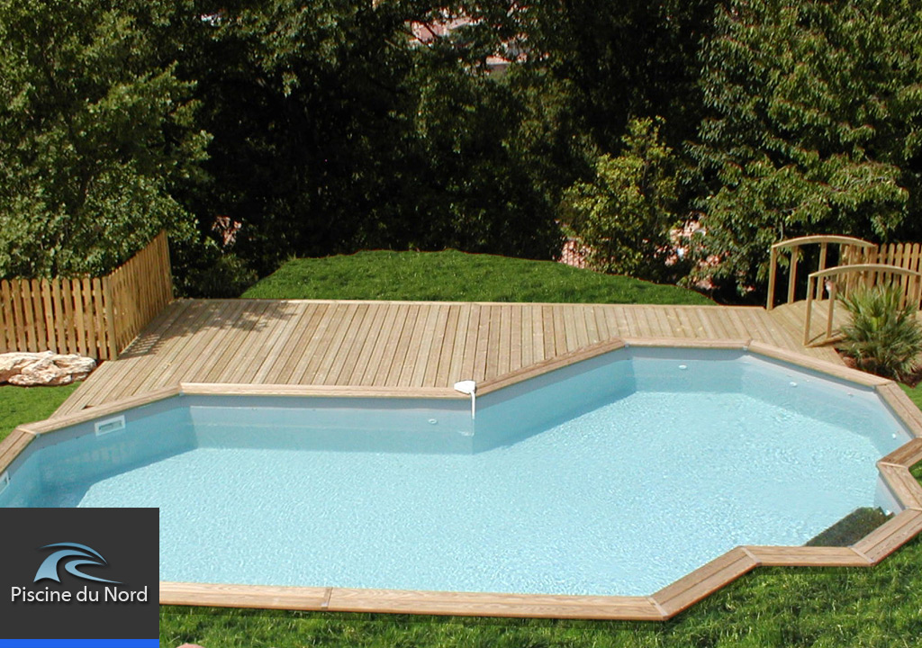 Piscine enterr e nord for Installation piscine enterree