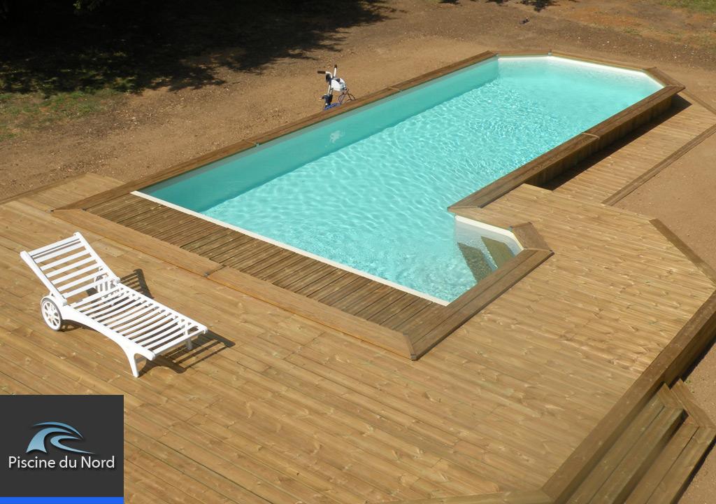 Galerie photos de piscines et abris piscine piscine du nord for Constructeur piscine nord