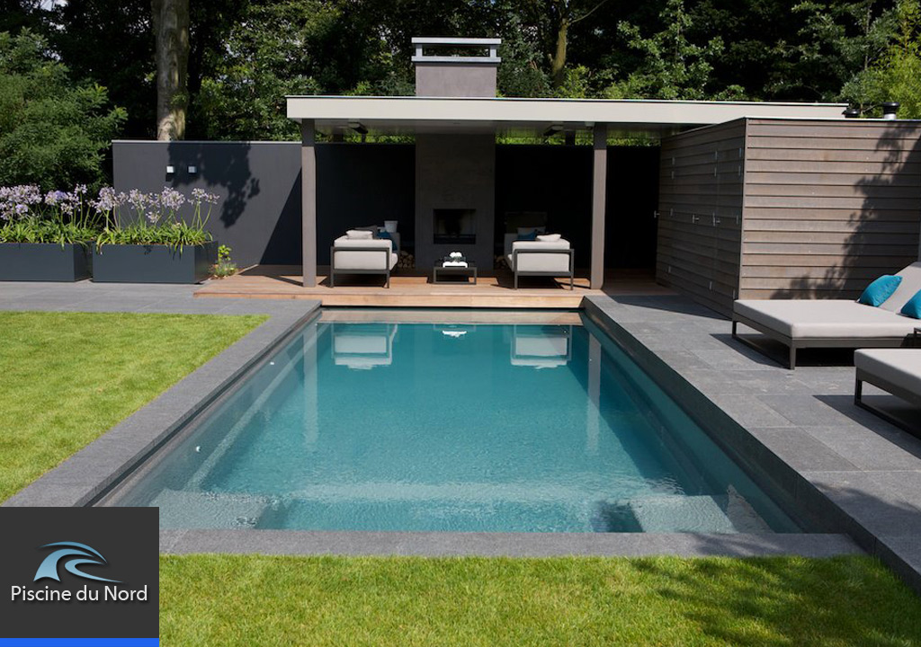 Piscine Moderne Avec Pool House Nord Pasdecalais With Pool House Moderne