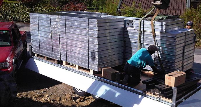 Constructeur piscines b ton coffrage for Construction piscine nord
