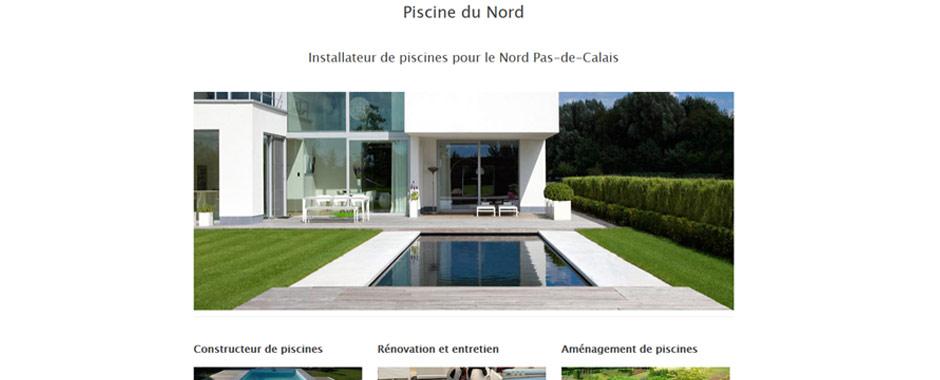 Plan du site piscine du nord for Construction piscine nord
