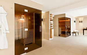 Sauna design contemporain