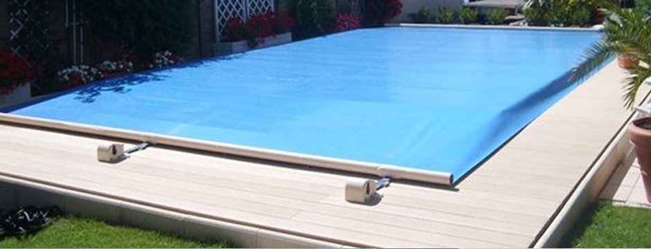 Couverture barres piscine et b che de s curit piscine - Couverture securite piscine ...